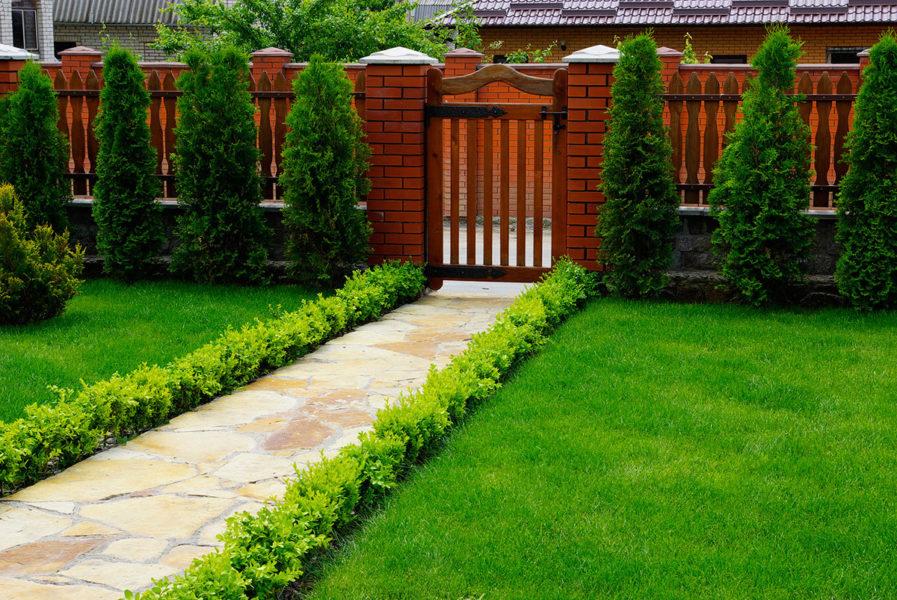 Ландшафтный дизайн частного дома своими руками