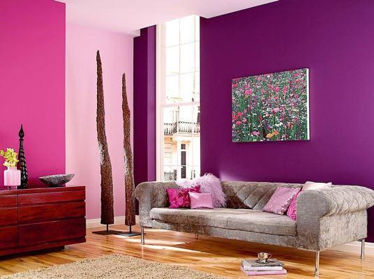 Интерьерные краски для стен