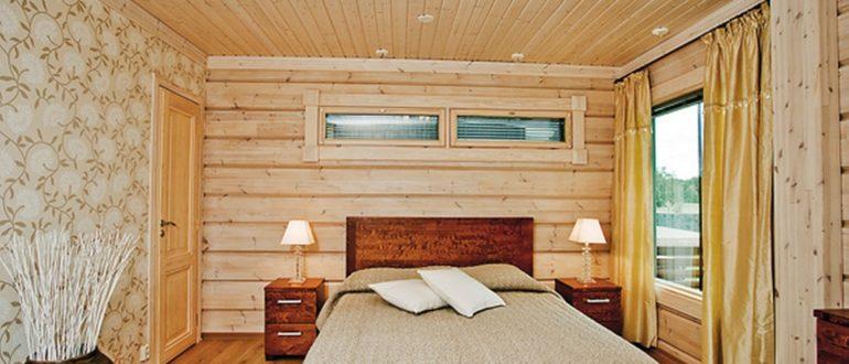 Деревянный дом внутренняя отделка вагонкой